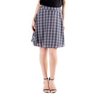 DownEast Basics Women's Tea Garden Skirt