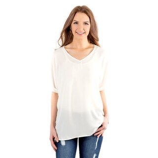 DownEast Basics Women's Market St Blouse