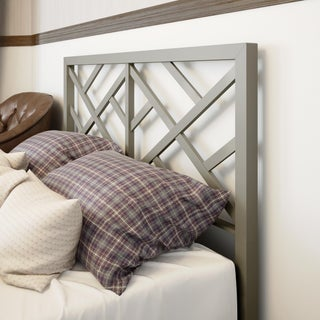 Amisco Windmill Queen Size 60-inch Metal Headboard (2 options available)