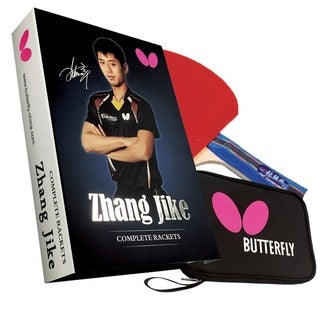 Butterfly Zhang Jike ITTF Approved Table Tennis Racket Set with 1 Paddle and 1 Paddle Case