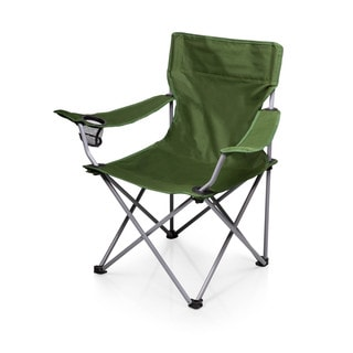 Picnic Time PTZ Green Camp Chair