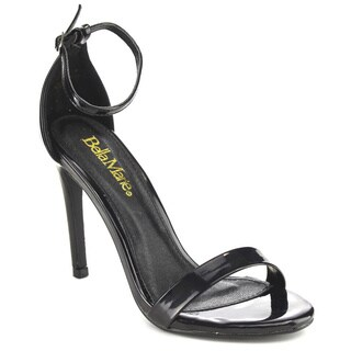 BELLA MARIE FLORA-18 Women's Stiletto Heel Strappy Dress Sandals