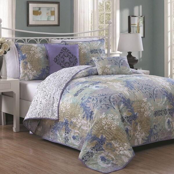 Avondale Manor Delaney 5-piece Quilt Set