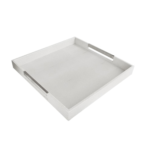 Accents by Jay Square Tray with Handles
