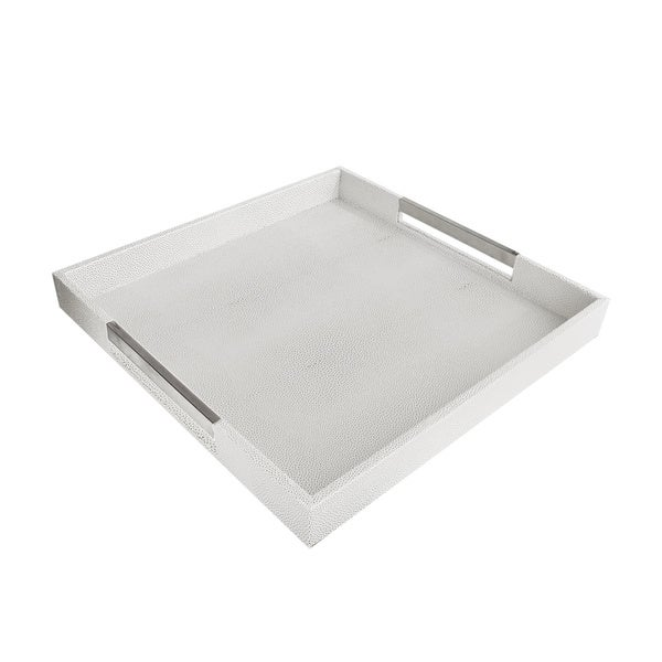 Accents by Jay Square Tray with Handles. Opens flyout.