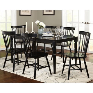 Nelson Industrial Modern Cross Back 7 piece Dining Set by iNSPIRE