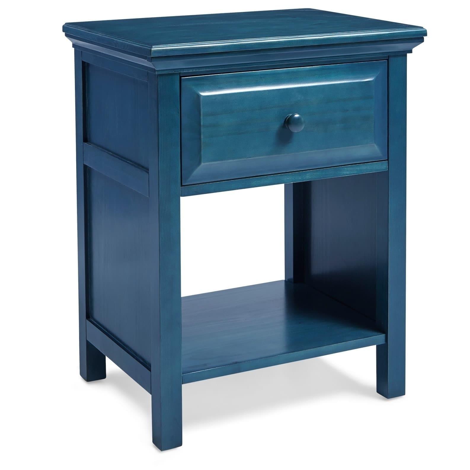 Mesa Mantua Arcadia Wedgewood Blue Nightstand (Wedgewood ...
