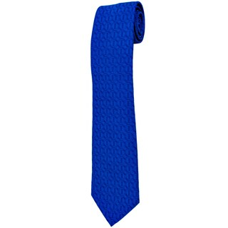 Davidoff 100-percent Silk Blue Icon Neck Tie