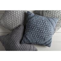 Decorative Gate 18-inch Poly or Down Filled Throw Pillow