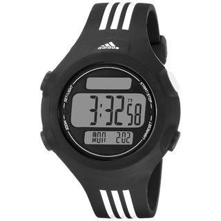 Adidas Unisex ADP6085 'Questra' Digital Black Polyurethane Watch