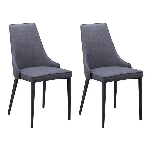 Shop Aurelle Home Copenhagen Dining Chair Set Of 2