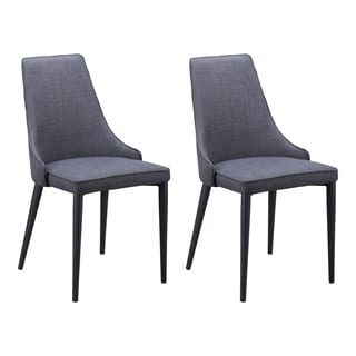 Aurelle Home King Dining Chair (Set of 2)
