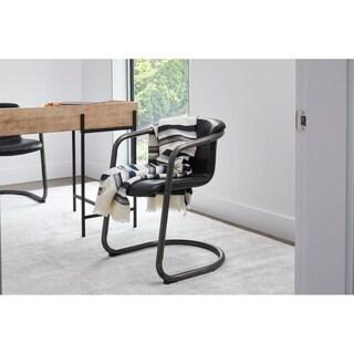 Aurelle Home Ryan Industrial Dining Chair (Set of 2)