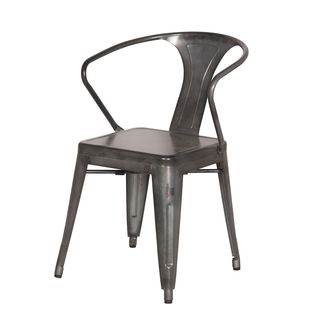Aurelle Home French Antique Bistro Dining Chairs (Set of 2)