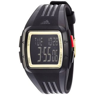 Adidas Unisex ADP6136 'Duramo' Digital Black Polyurethane Watch