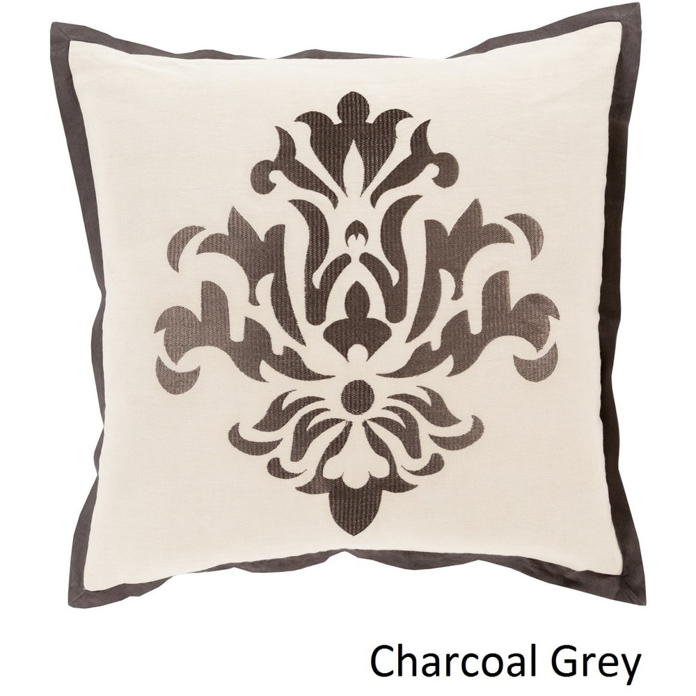 Shop Decorative East 18-inch Poly or Feather Down Filled Throw Pillow - 11442218