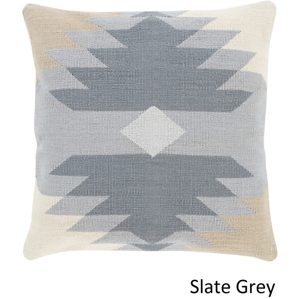 Shop Decorative Chee 18-inch Poly or Feather Down Filled Throw Pillow - 11442225
