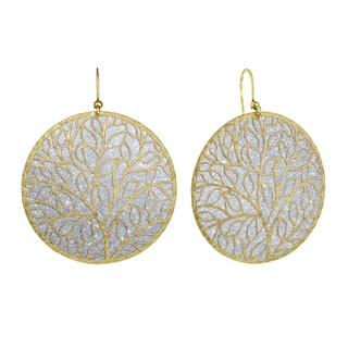 Isla Simone - Silver Tone Tree-Of-Life Circle Earring|https://ak1.ostkcdn.com/images/products/11442345/P18402396.jpg?impolicy=medium