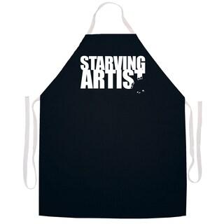 Starving Artist' Artist Apron-Black
