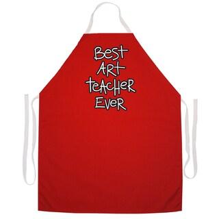 Art Teacher Artist Apron-Red