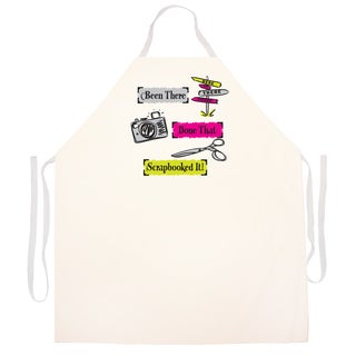 Scrapbooked It' Artist Apron-Natural