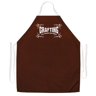 Crafting Therapy' Artist Apron-