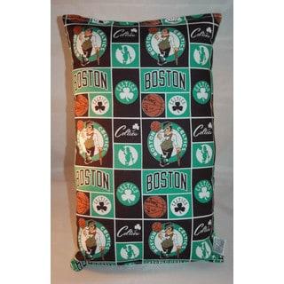 Lillowz NBA Boston Celtics Reversible 9 x 16-inch Rectangular Throw Pillow