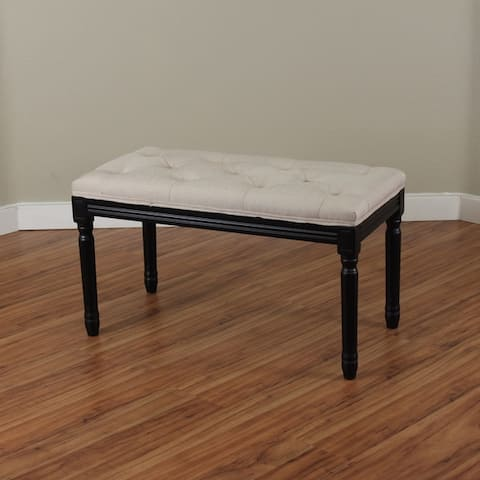 Navario Two-tone Upholstered Bench