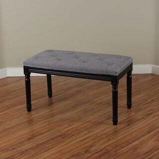 Navario Two-tone Upholstered Bench
