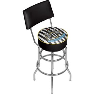 Premier League Newcastle United Swivel Bar Stool with Back