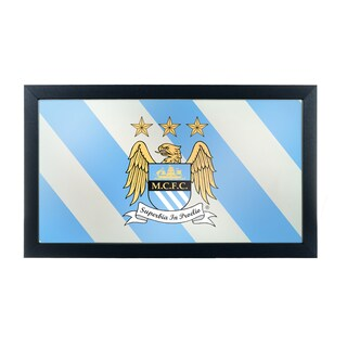 Premier League Manchester City Framed Logo Mirror