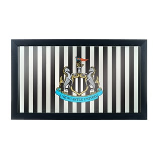 Premier League Newcastle United Framed Logo Mirror