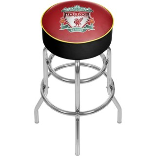 Premier League Liverpool Football Club Chrome Bar Stool with Swivel
