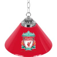Premier League Liverpool Football Club Single Shade Chrome Bar Lamp