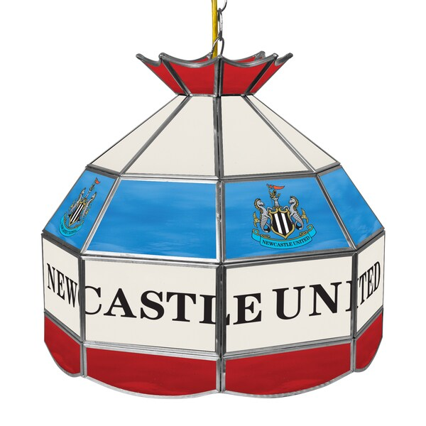 Premier League Newcastle United 16 Inch Handmade Tiffany Style Lamp