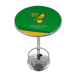 Premier League Norwich City Chrome Pub Table