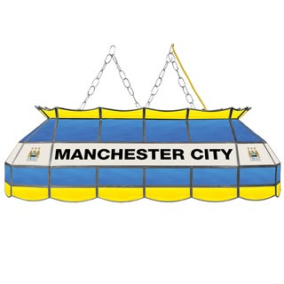 Premier League Manchester City Handmade Tiffany Style Lamp - 40 Inch