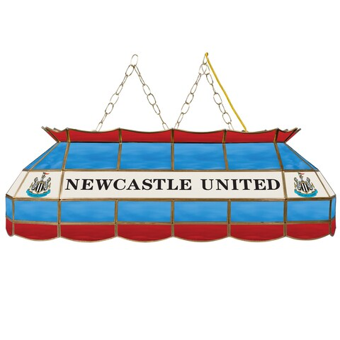 Premier League Newcastle United Handmade Tiffany Style Lamp - 40 Inch