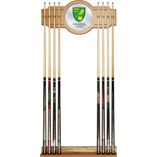 Premier League Norwich City Cue Rack with Mirror