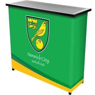Premier League Norwich City Portable Bar with Case