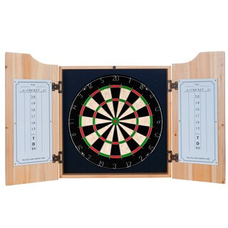 Premier League Swansea City Dart Cabinet includes Darts and Board