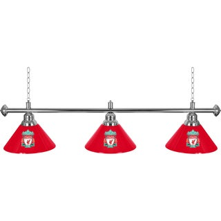 Premier League Liverpool Football Club 3 Shade Chrome Bar Lamp