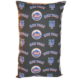 Lillowz MLB New York Mets Reversible 9 x 16-inch Rectangular Throw Pillow