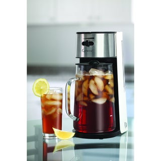 Capresso Iced Tea Maker with 80-Ounce Glass Carafe and Removable Water Tank (Refurbished)