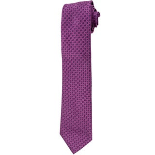 Davidoff 100-percent Silk Purple Crocus Neck Tie