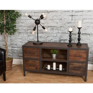 Bombay Reclaimed Natural 4-Drawer Media Console