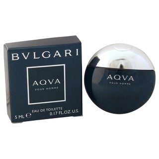 Bvlgari Aqva Men's 5 ml Eau de Toilette Splash (Mini)