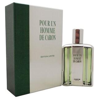 Caron Pour Un Homme de Caron Men's 4.2-ounce Eau de Toilette Spray