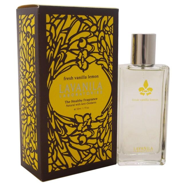 Lavanila The Healthy Fragrance Fresh Vanilla (White) Lemo...