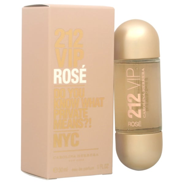 cc06094f8 Shop Carolina Herrera 212 VIP Rose Women s 1-ounce Eau de Parfum Spray -  Free Shipping Today - Overstock - 11443015
